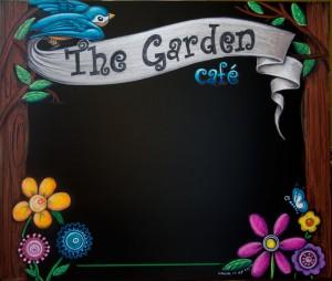 sunsine kids chalk art signs,  cafe specials chalkboard