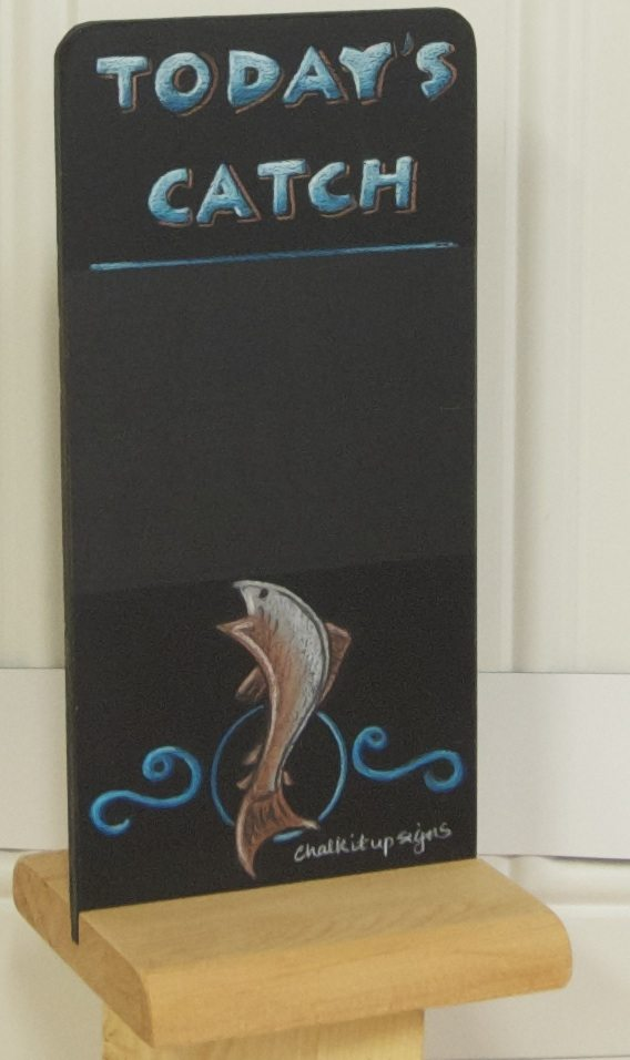 Table Top Chalk Art Signs