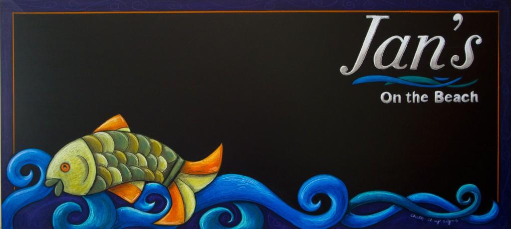 Specials Chalkboard , Hook Line and Sinker
