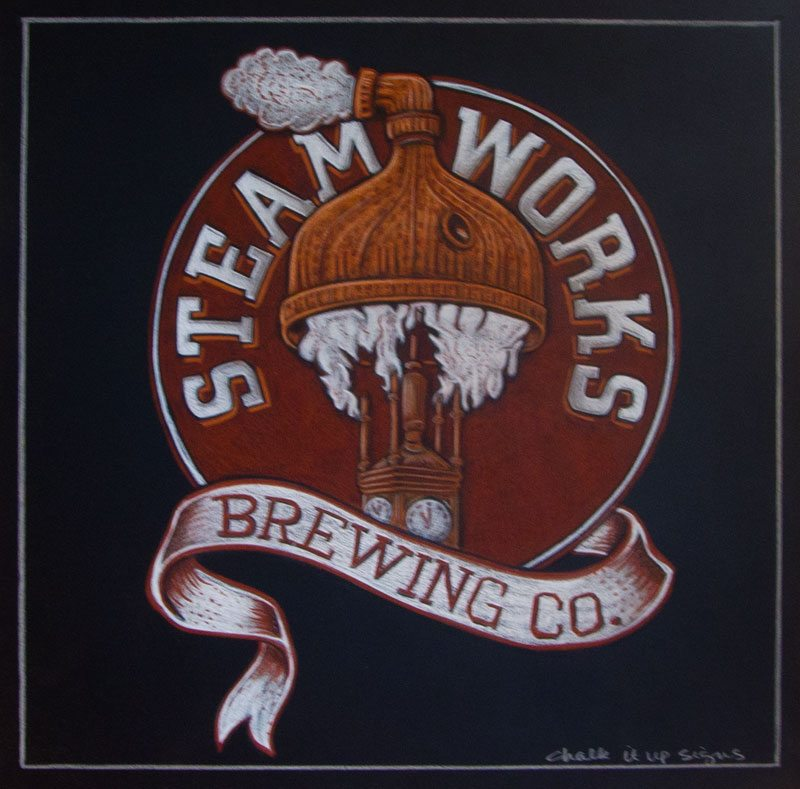 Trade Show and Brewery Logo Chalkboards