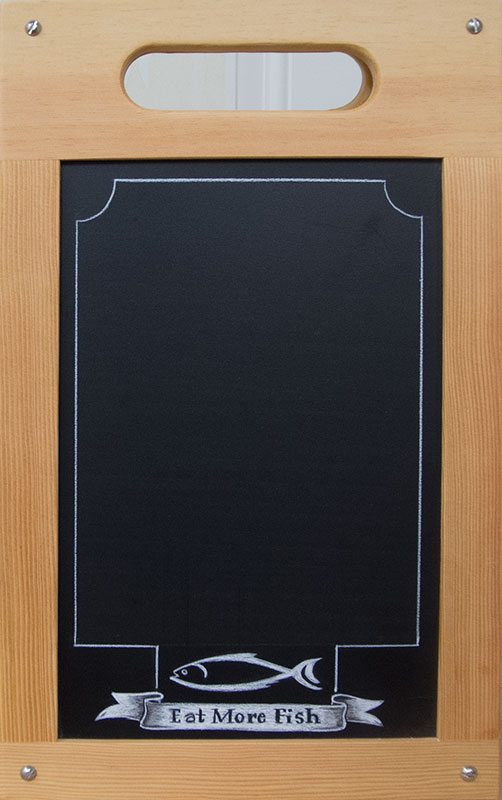 Table Top Chalkboard A Frame Sandwich Board