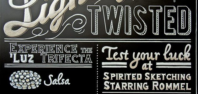 Hand Lettering and Chalkboards