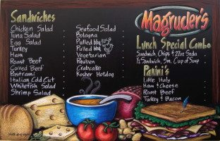 Magruders in DC Chalkboard Menu