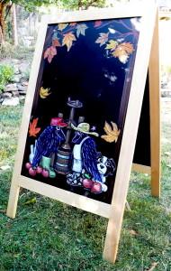 Ravenskill A-Frame Chalkboard