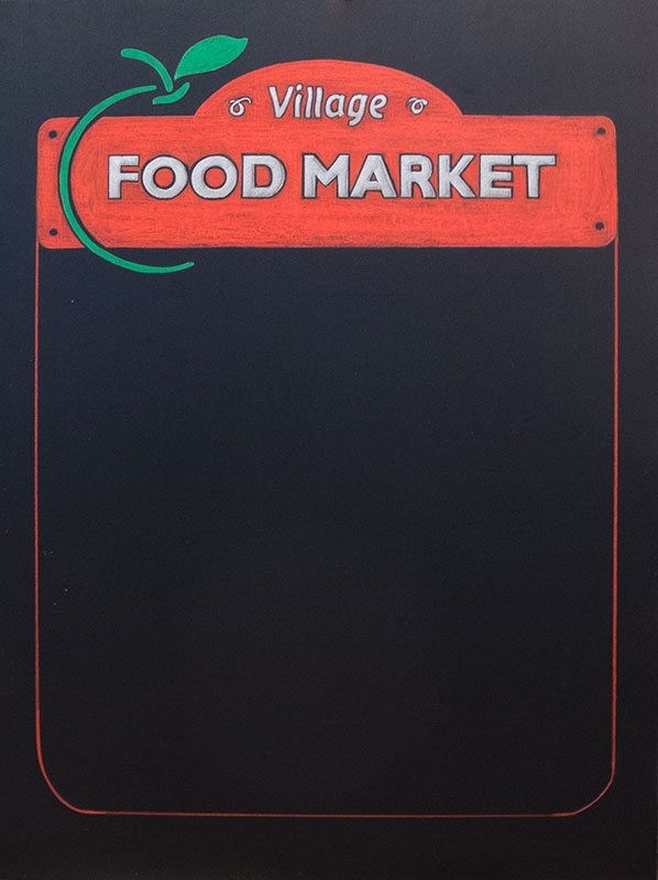 Grocery Store Deli Chalkboard Specials Signs on Gabriola Island