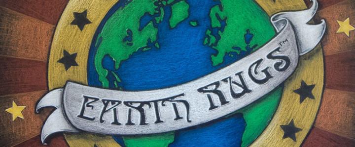 Earth Rugs Logo Chalkboard