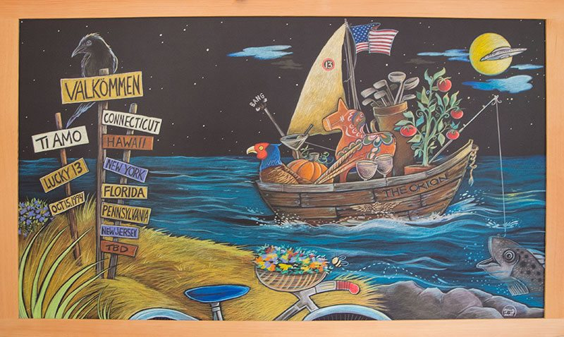 personalized custom chalkboard artwork,Framed Personalized Chalkboard Artwork for Home