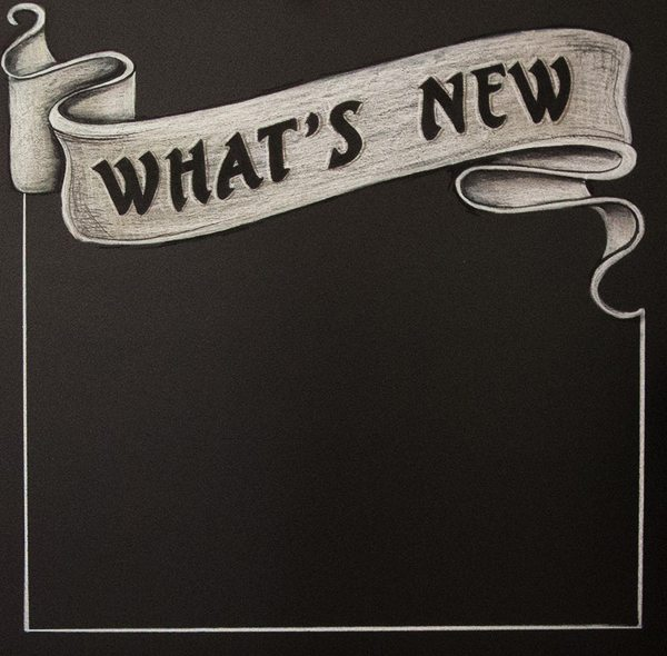simpsons tavern, what's new, chalkboard specials sign