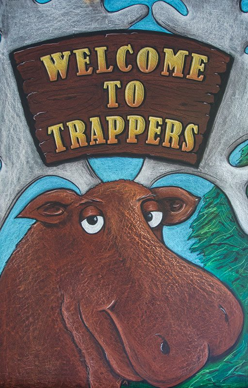 trappers welcome moose