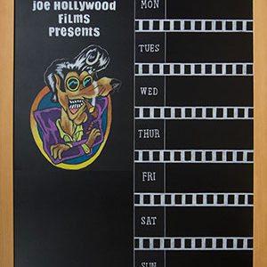 Florida Halloween Movie Blackboard