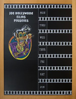 Movie Theater Chalkboard
