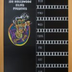 Movie Theater Chalkboard,Florida movie blackboard