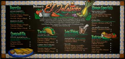 Chalk It Up Signs, Custom Chalkboard Menu Signs, Chalk Board Art , Chalk Artist, USA & Canada
