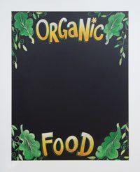 Framed Organic Deli Chalkboards