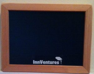 promotional chalkboard, chalk it up signs, small chalkboard