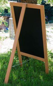 Single Sided Chalkboard Sidewalk Sign, Chalkboard A Frame, chalk it up signs, Single Sided Chalkboard A Frame