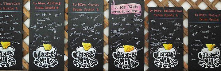 Teacher Gift Classroom Chalkboard