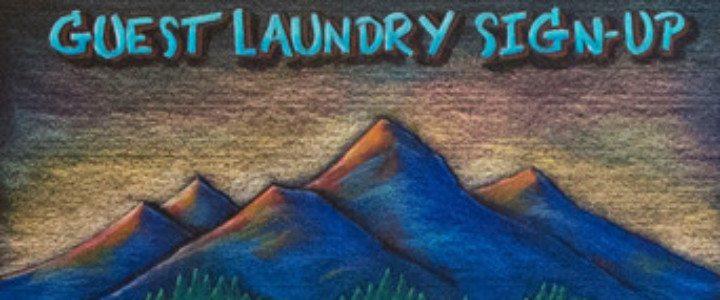 Durango Colorado Laundry Calendar Chalkboard