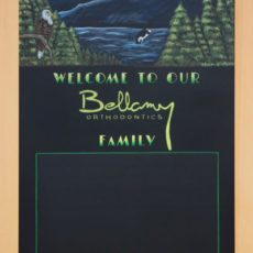 Buy a Custom Chalkboard Menu sign in Canada and the USA