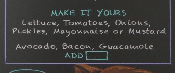 How Do You Make a Restaurant Chalkboard Menu Sign?