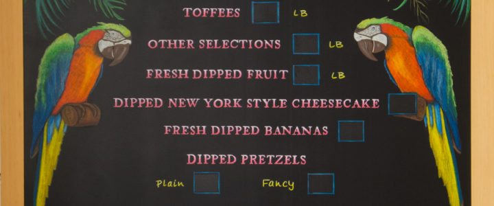 Customized Chalkboard For Your Business