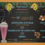 Chalkboard menu for Ice Cream Store, removable slats chalkboard sign, chalkboard sign with removable slats, katz'z deli. texas, chalkboard sign with removable slats,deli signs, Chalkboard menu, chalkboard restaurant sign, shop for menu chalkboard, shop for chalk art sign, purchase chalkboard art, buy chalk art sign, chalk it up signs, chalk art, chalk signage, hand drawn, hand made, custom chalkboard menu, custom chalk sign, Full Artwork Chalkboards, Menu Chalkboard, Chalk It Up Signs, Custom Chalkboard, Chalk Sign, Chalkboard Menu, Canada, United States, Vancouver, Toronto, Montreal, New York, Los Angeles, chalk art design, hand drawn chalk art, chalkboard art, Nanaimo, California, smudge proof, easel, A Frame, Boston, Seattle, Miami, LA, San Francisco, printed chalkboard, framed chalkboard, Scottsdale,Digital Printed Chalkboard, small chalkboard, wedding chalkboard, cafe chalkboard, chalk artist video
