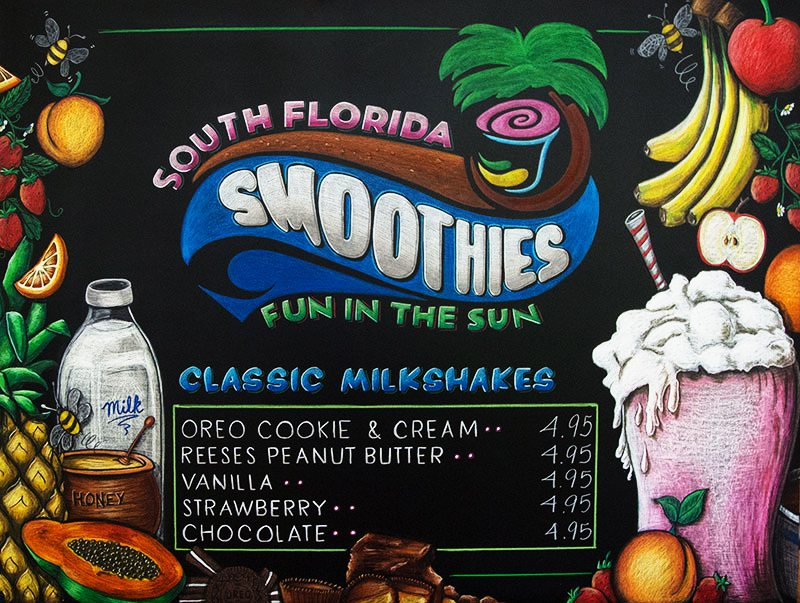 Chalk Menu Boards For Restaurants And Cafe S Chalk It Up